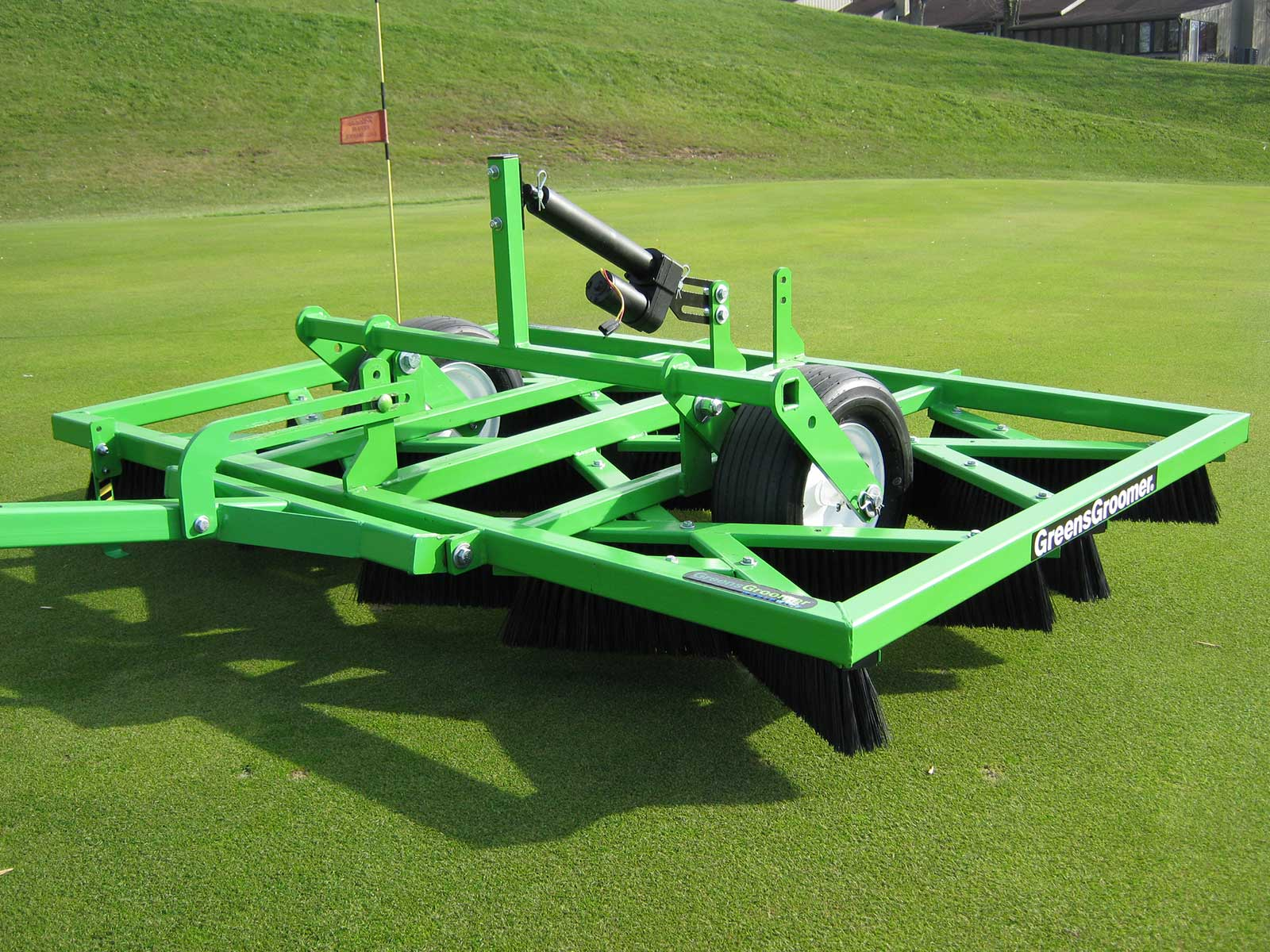 GreensGroomer for Natural Turf - The Leading Topdressing Brush in
